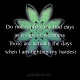 bad day not weakness
