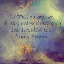 kindness is love