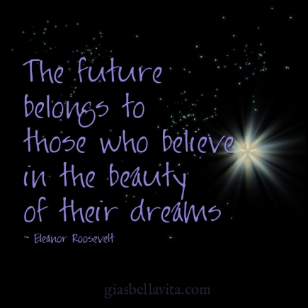 believe in your future