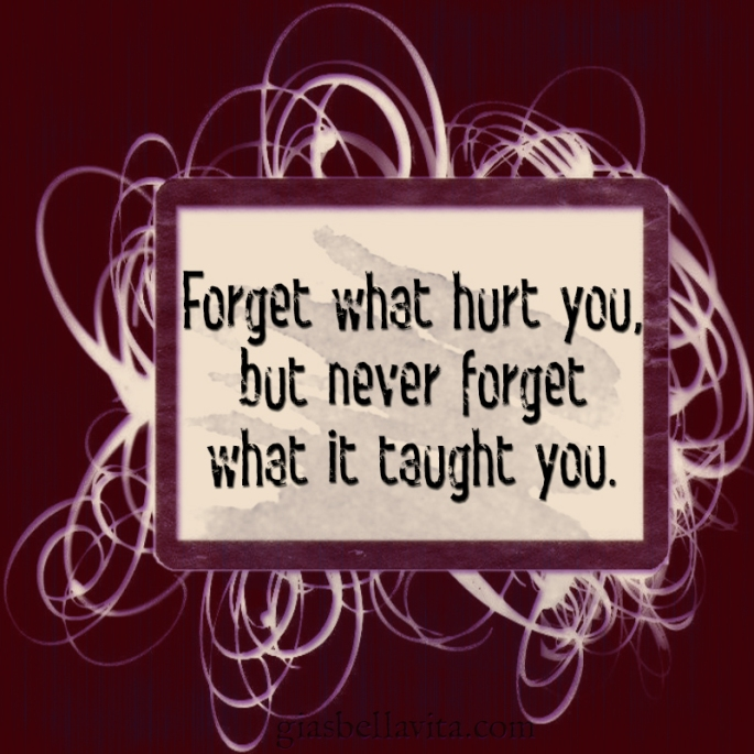 what pain taught you