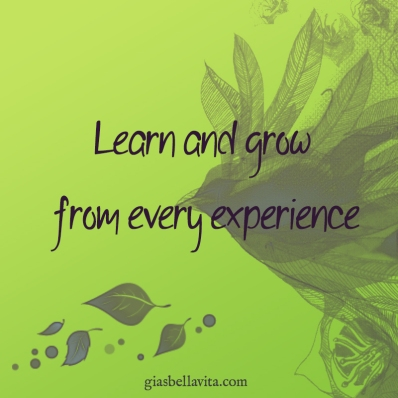 grow from experience