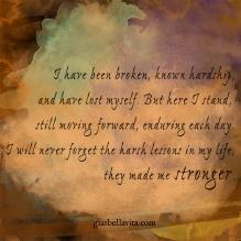 moving forward stronger