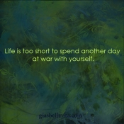 at war with yourself